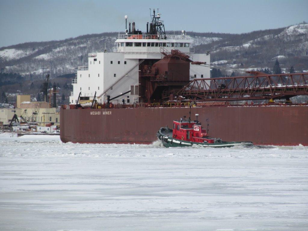 winter ship