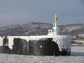 Ice on Ship Bow (About Us)