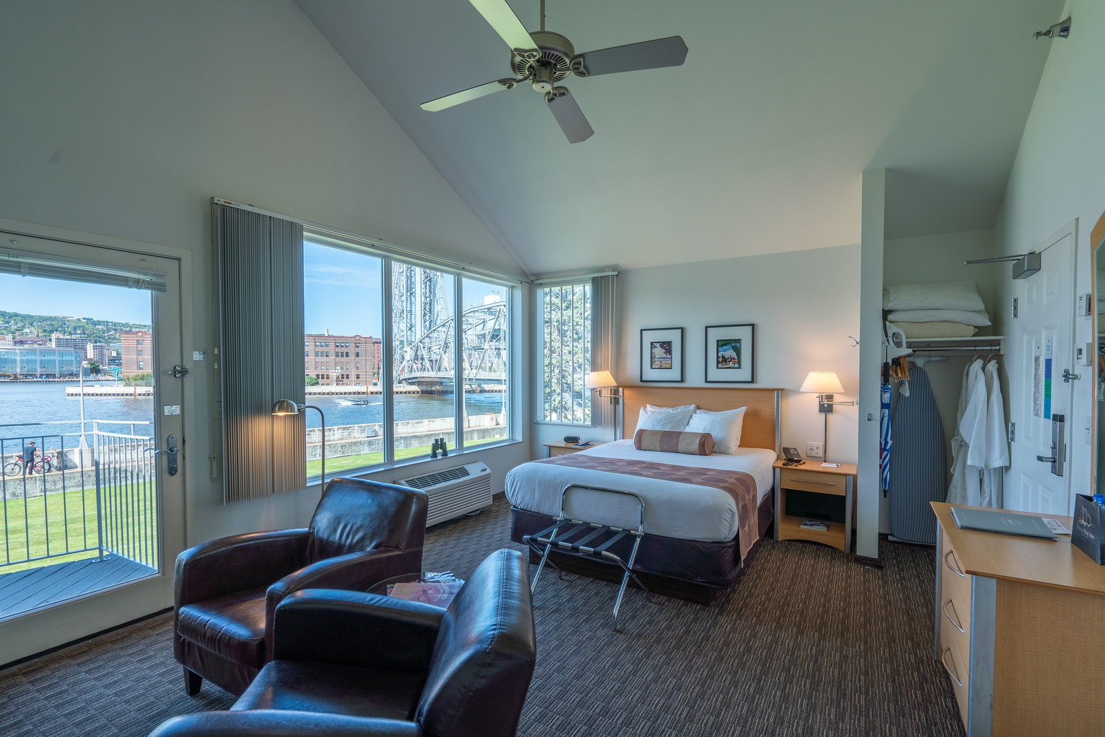One Room Waterfront Suite – Canal View